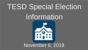 TESD Special Election Info