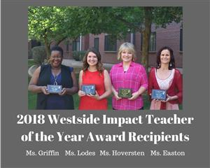 Westside Impact Teacher of the Year